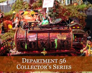 Department 56 Halloween Village Collector's Series