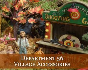Department 56 Halloween Village Accessories