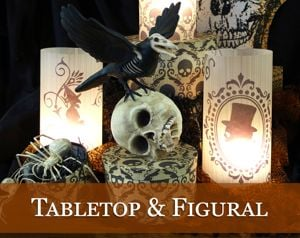 Halloween Tabletop & Figural Decor