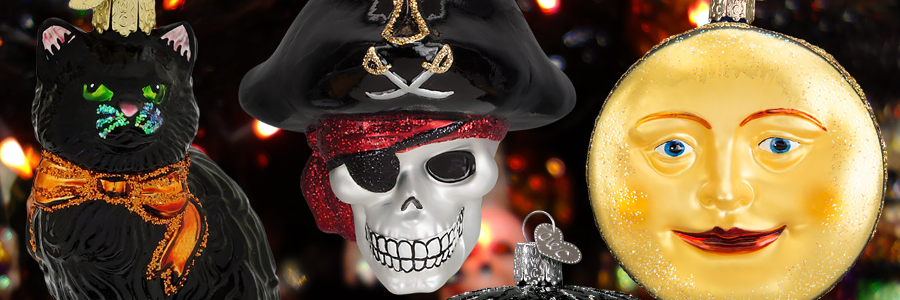 Old World Christmas Halloween Ornaments - Traditions