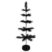 Black Artificial Feather Tree