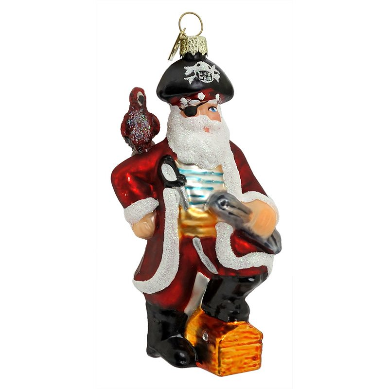 Pirate Santa By Kurt Adler Traditions