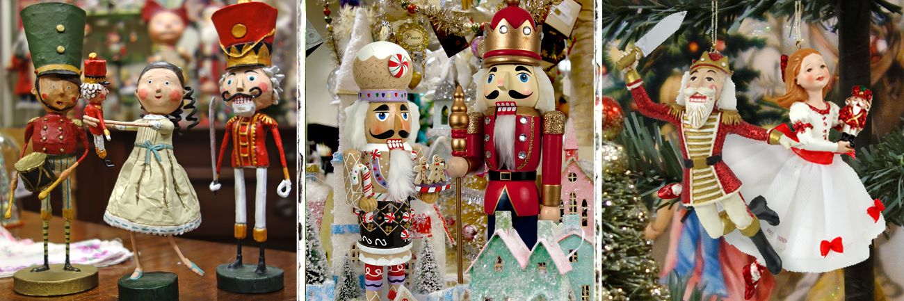 nutcracker suite decor ornaments - Nutcracker Christmas Decorations