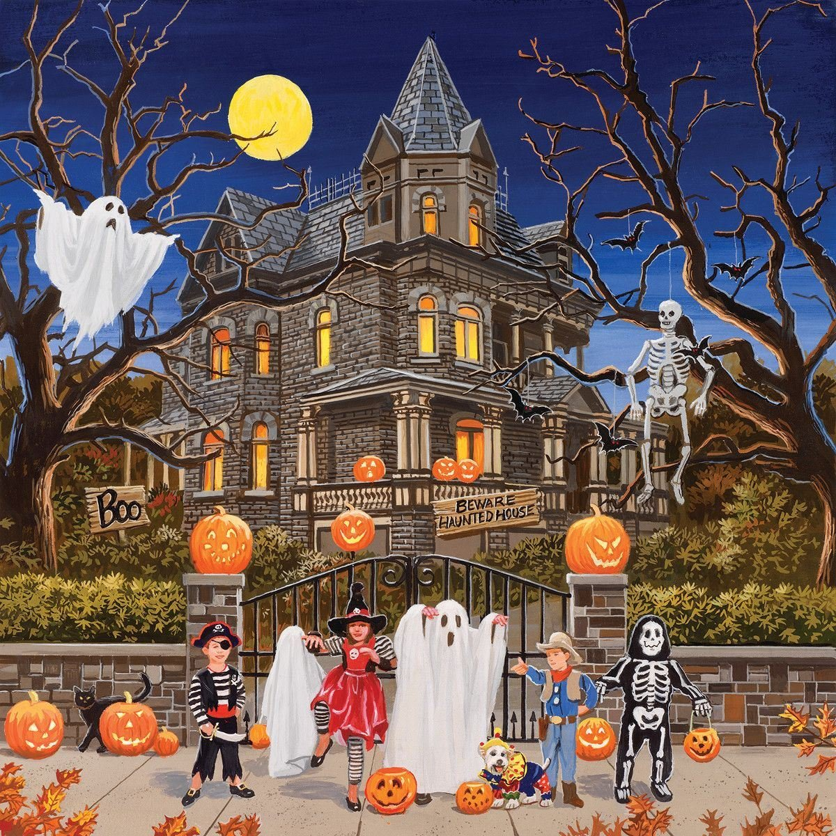 Beware Haunted House Puzzle By Sunsout Puzzles Traditions