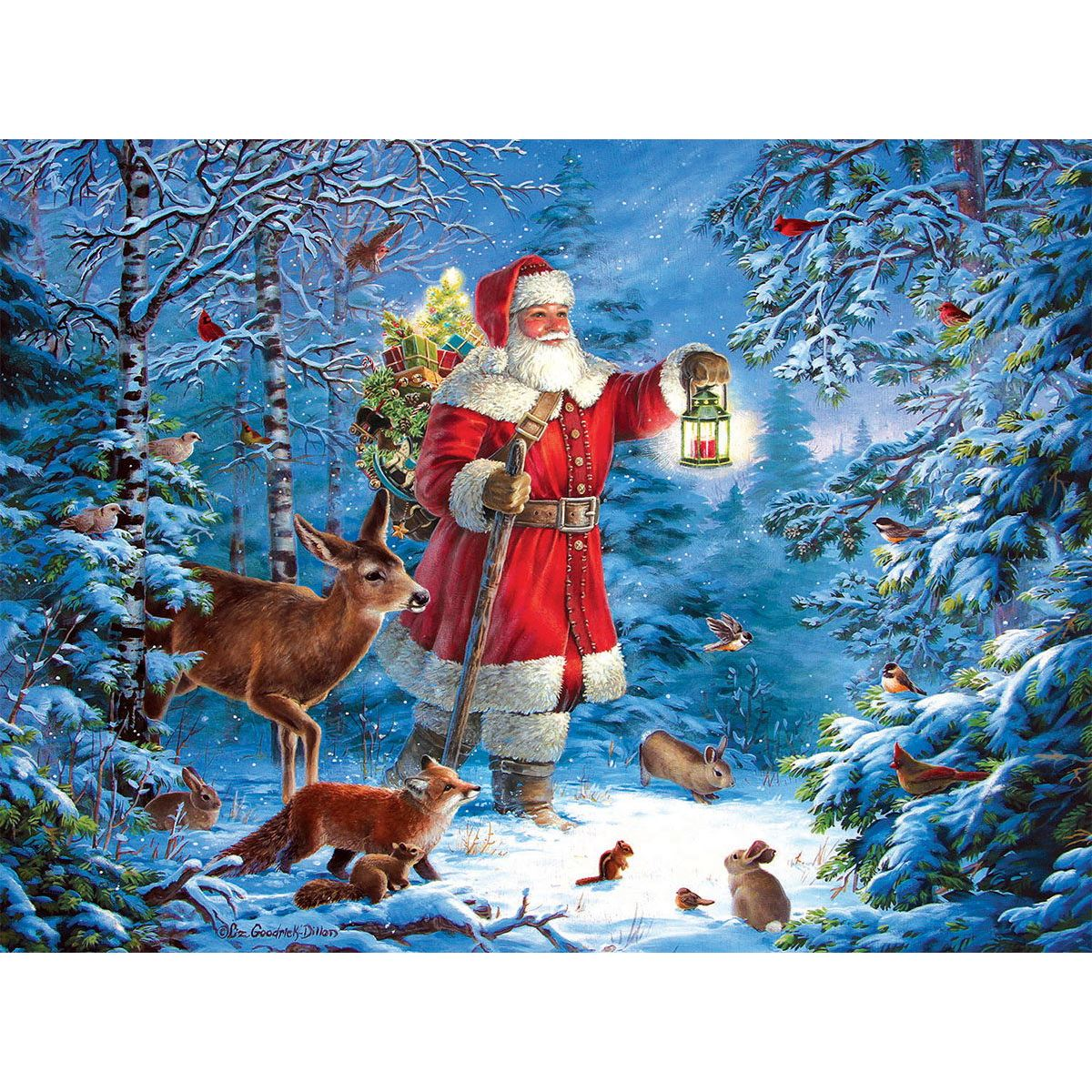 Tannenbaum Puzzle.American Made Christmas Jigsaw Puzzles