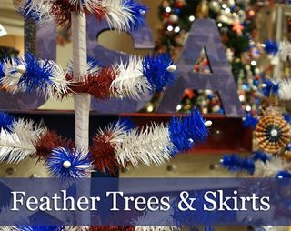 Patriotic Christmas Trees.4th Of July Glass Ornaments Patriotic Memorial Day Ornaments