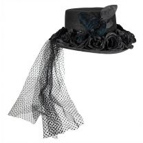 Roses & Crows Riding Hat