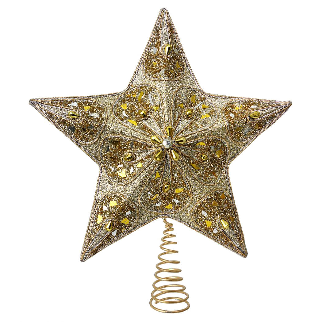 Gold Silver Tree Toppers Finials