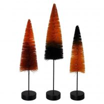 Halloween Magic Ombre Trees Set/3