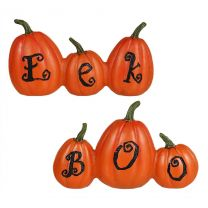 Boo & Eek Halloween Pumpkin Signs Set/2