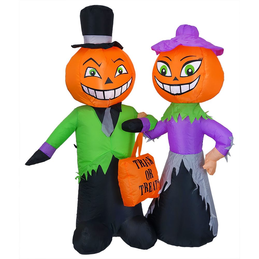 Trick Or Treat Couple Halloween Blow Up