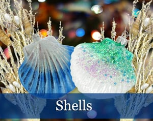 Sea & Beach Shell Ornaments
