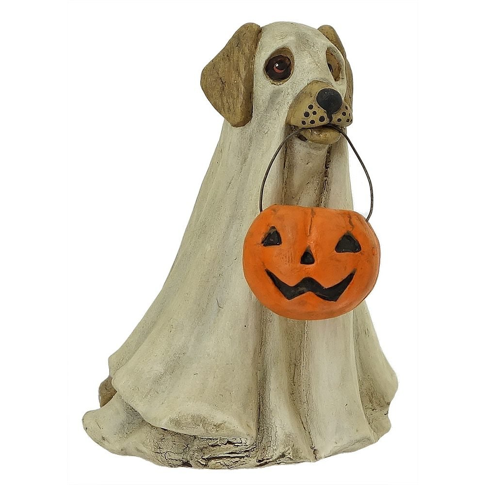 Spooky Ghost Dog By Bethany Lowe Traditions