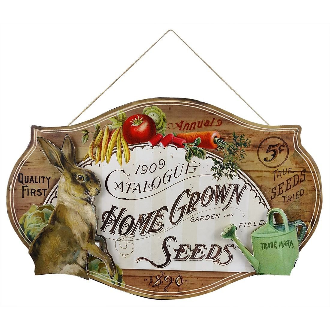 Farmer S Market Tin Sign By Bethany Lowe Traditions