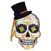 Day of the Dead Tin Sign