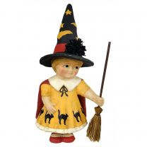 Large Trick or Treat Girl with Broom