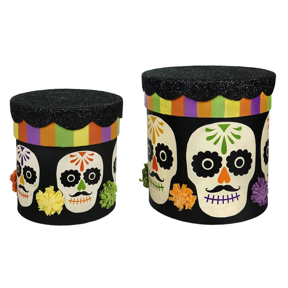 faf72bf39100 Day of the Dead Nesting Boxes Set/2