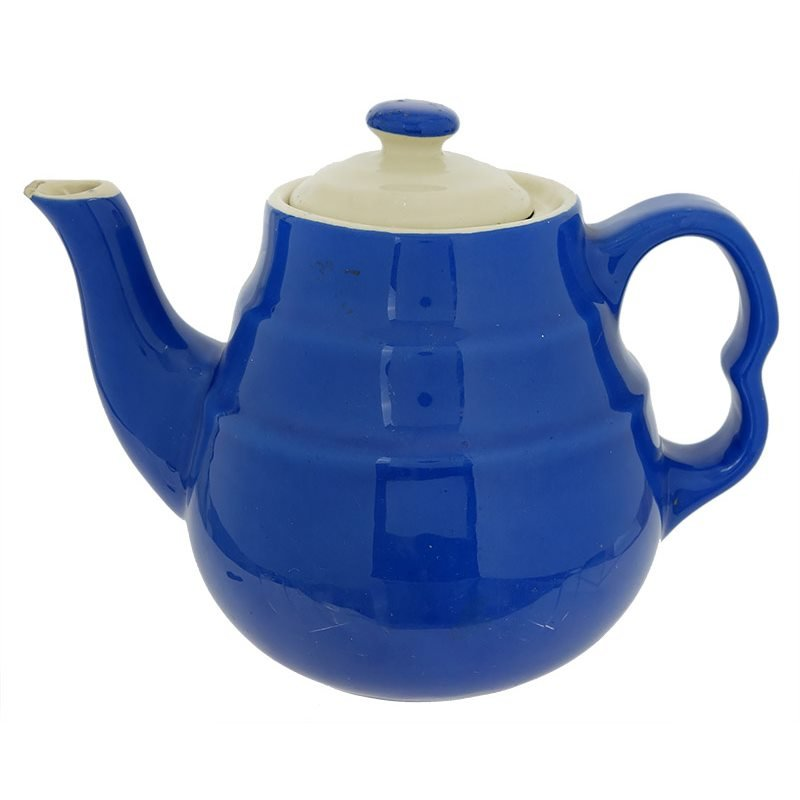 Blue Amp White Lid Teapot Traditions