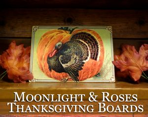 Moonlight & Roses Thanksgiving Boards