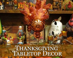 Thanksgiving Tabletop Decor