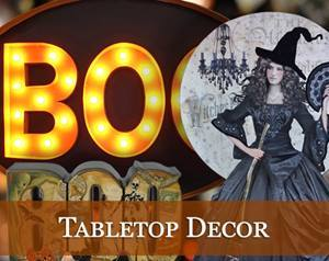 Halloween Tabletop Decor