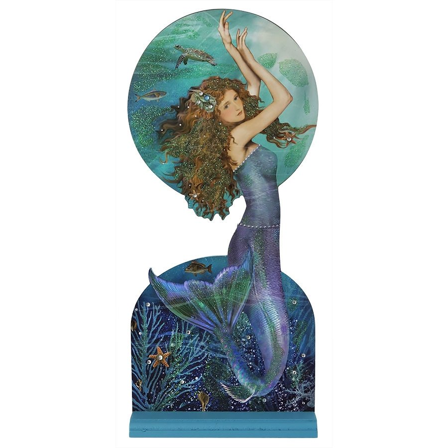 Mermaid With Turtle Table Sitter Traditions