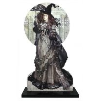Black Magic Woman with Parasol Board