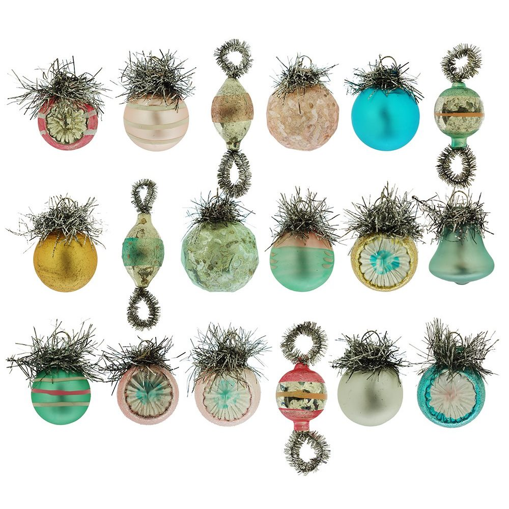 vintage pastel ornaments box20